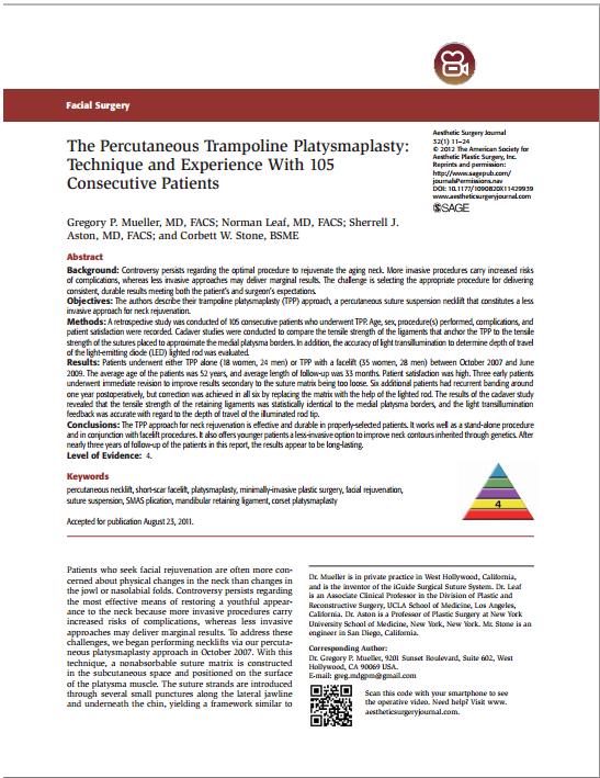 Trampoline Plasymaplasty